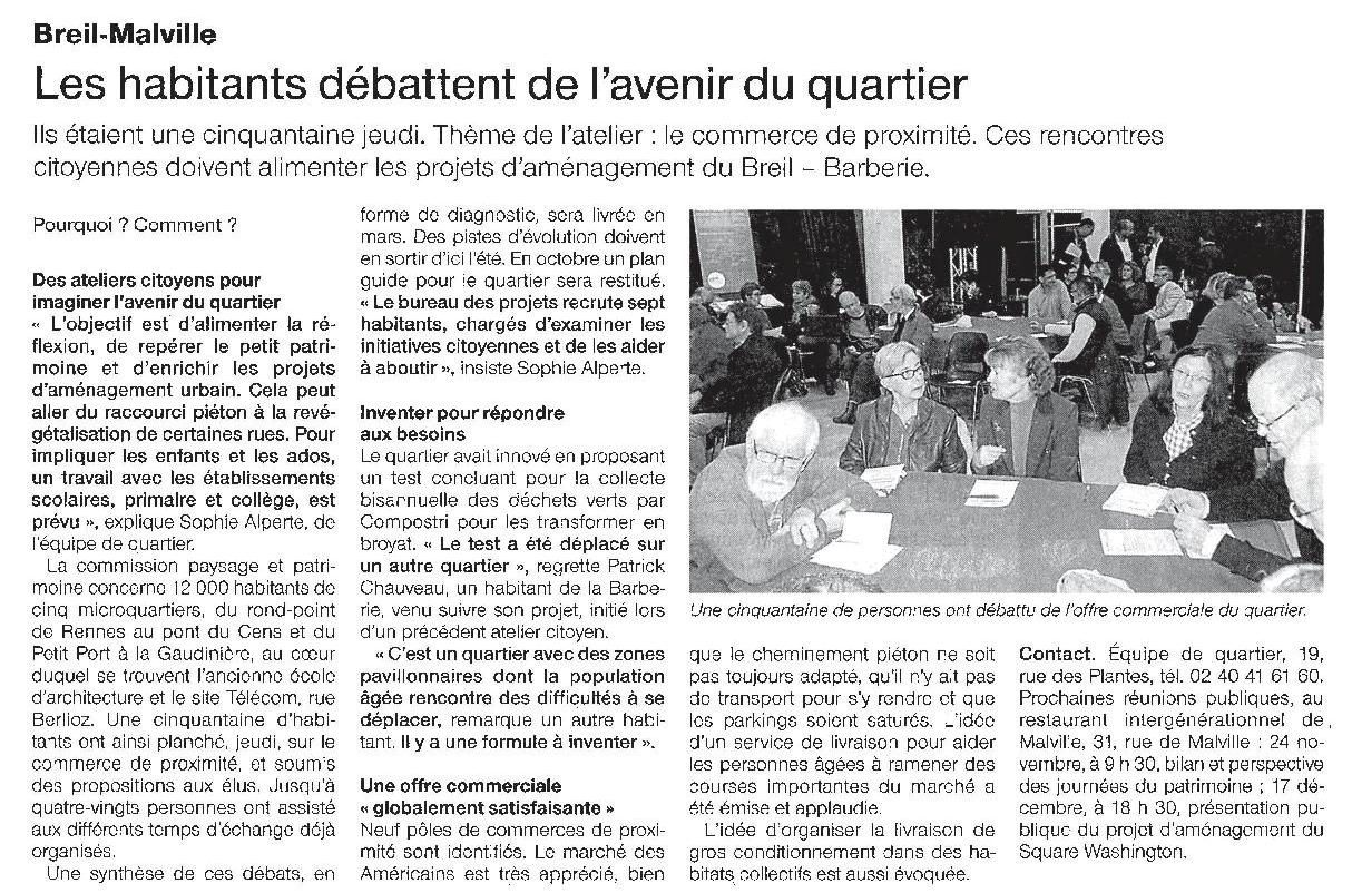 Ouest France - 23-11-2015