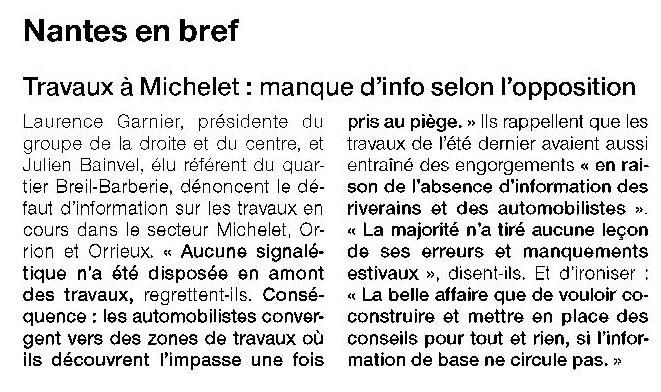 Ouest France - 15/01/2016