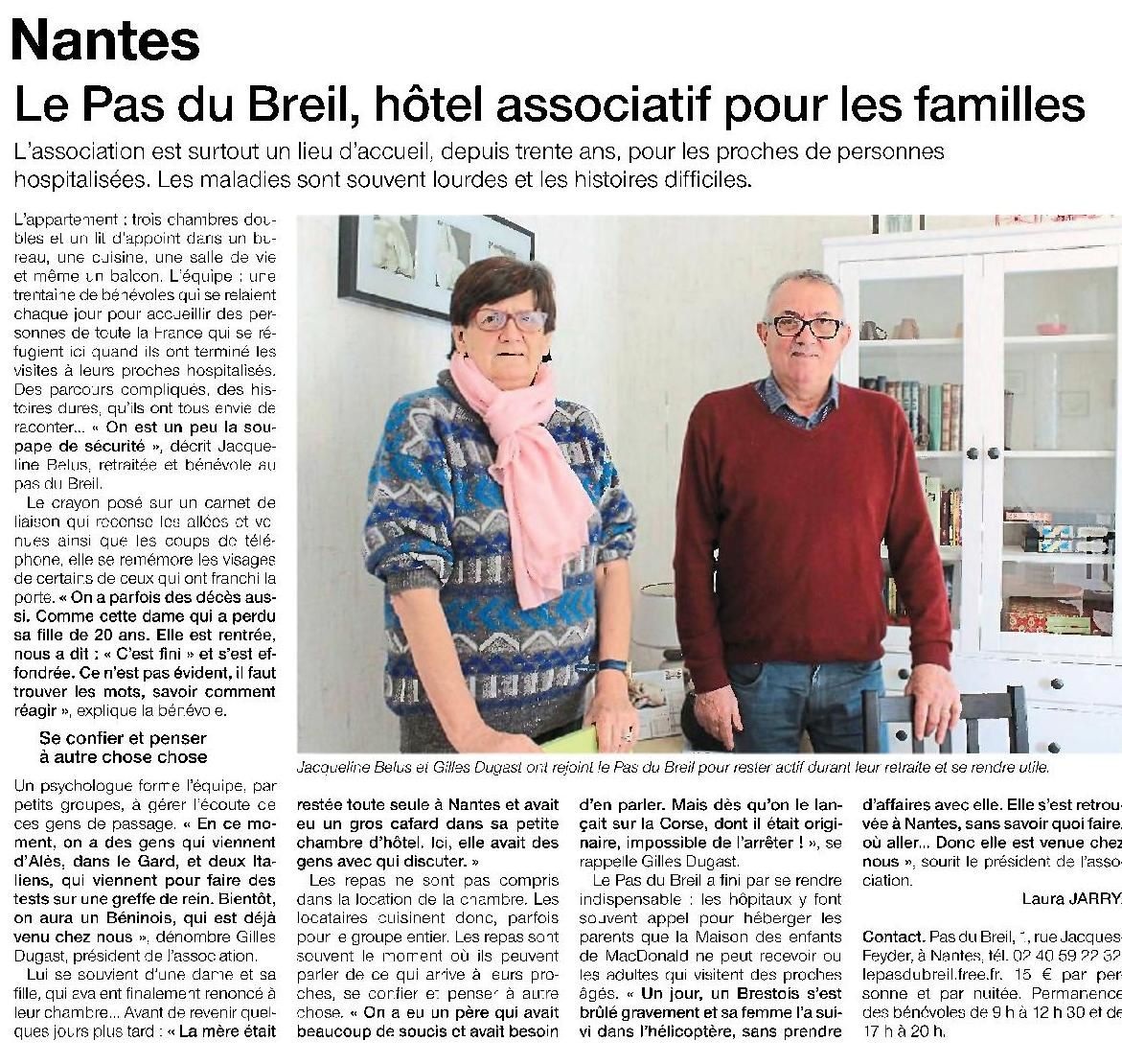 Ouest France - 23/03/2016