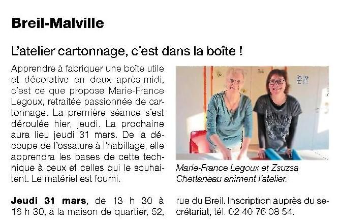 Ouest France - 25/03/2016