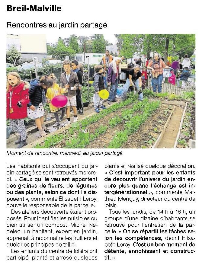 Ouest France - 14/05/2016