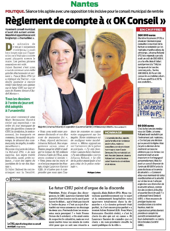 Presse Océan - 08/10/2016