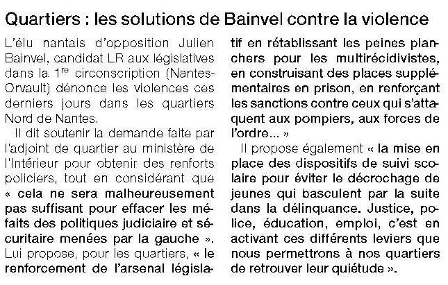 Ouest France - 3/11/2016