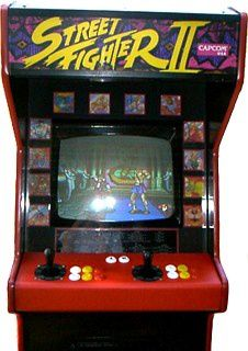 borne arcade occasion street fighter 2