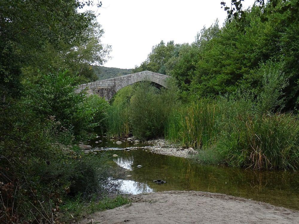 Pont Spin'a Cavallu sur la commune de Sartène
