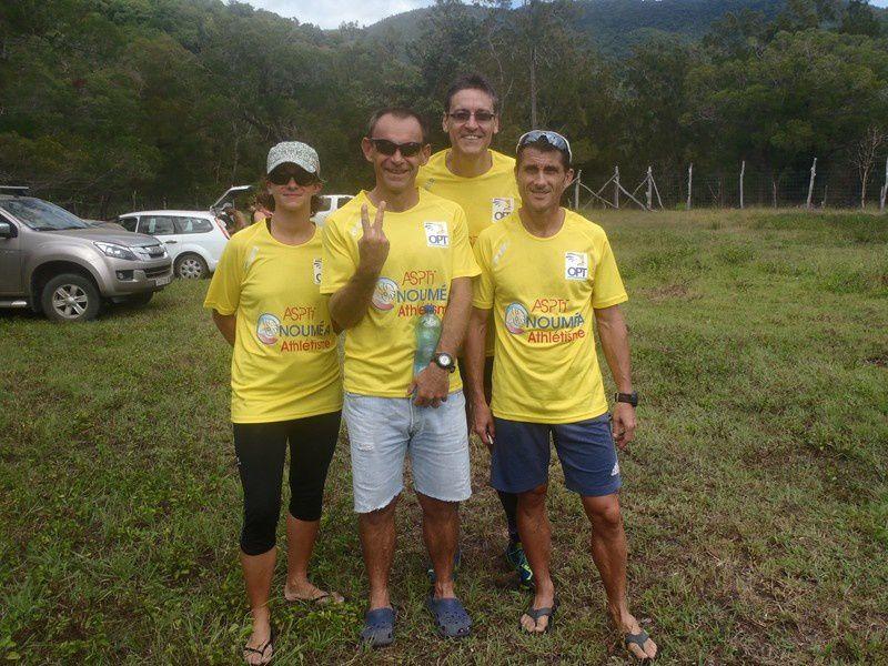 La Ouenghi, 1er trail de la saison