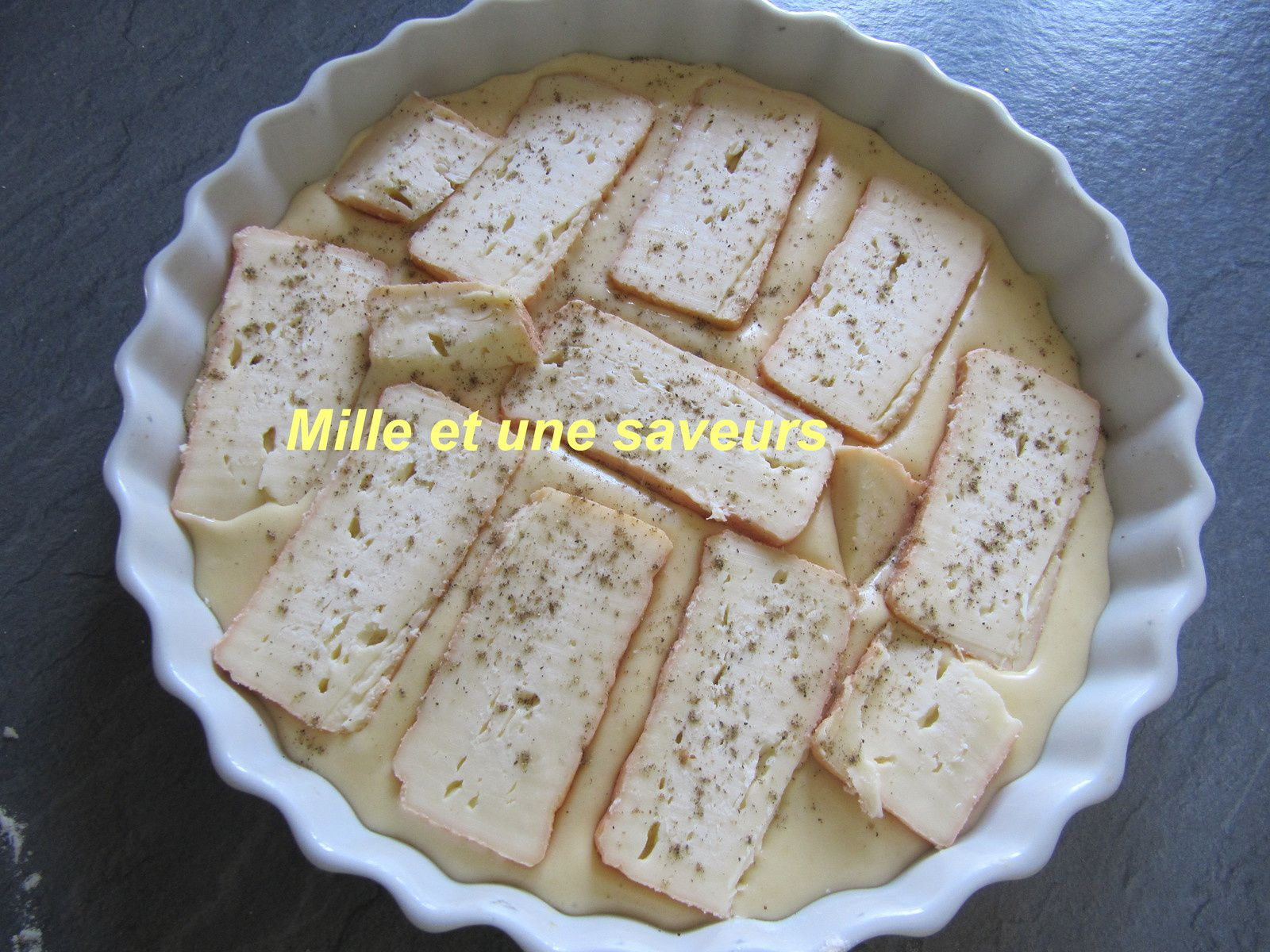 tarte avant cuisson