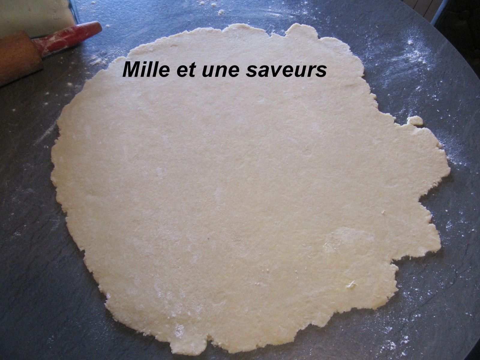 Tartelettes courgettes et mozarella