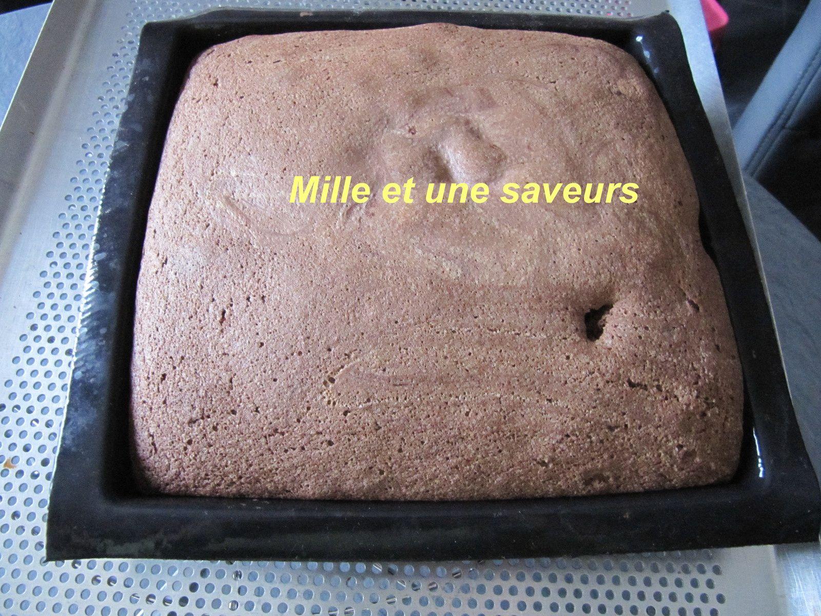 Un bon gâteau kinder délice tout moelleux