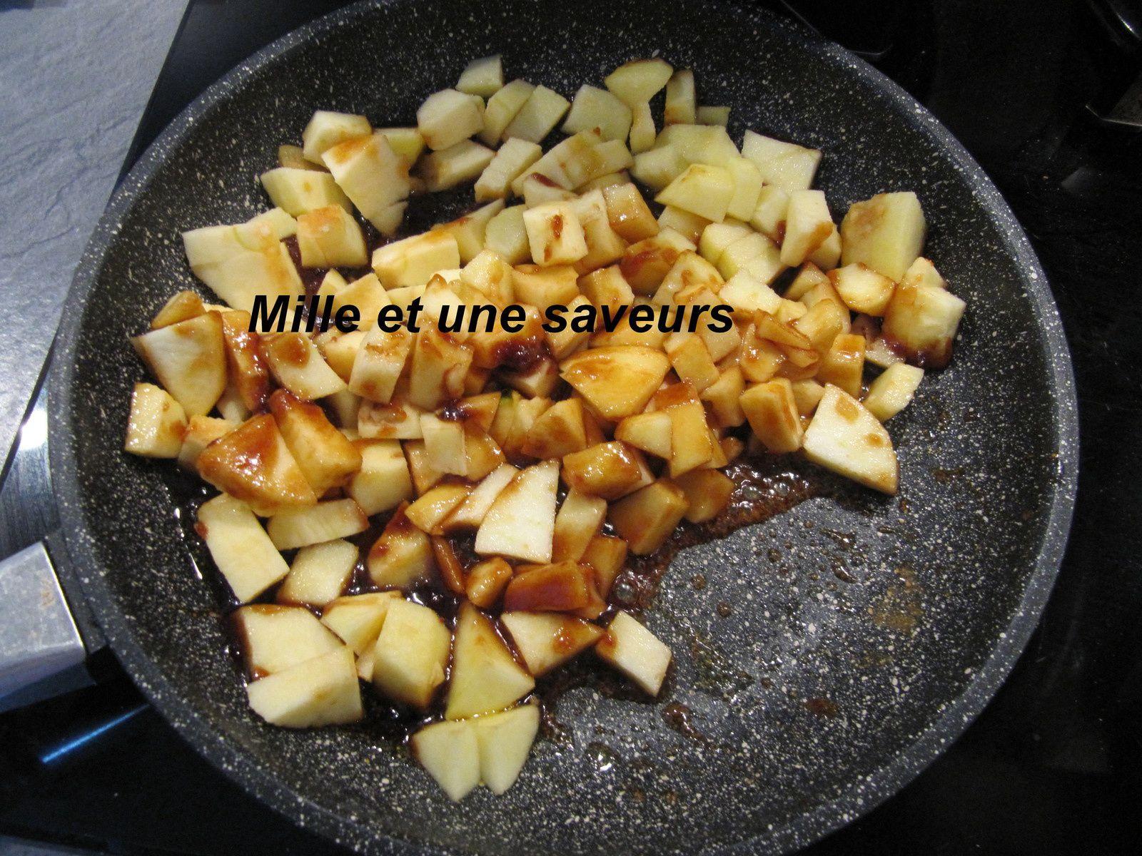 Tarte grand mère aux pommes et aux noix