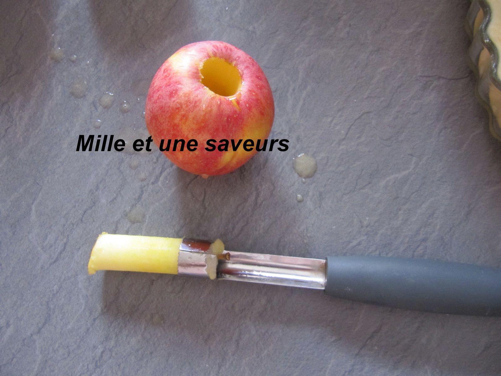 Je ne pourrai plus m'en passer de cet outil si pratique à évider les pommes