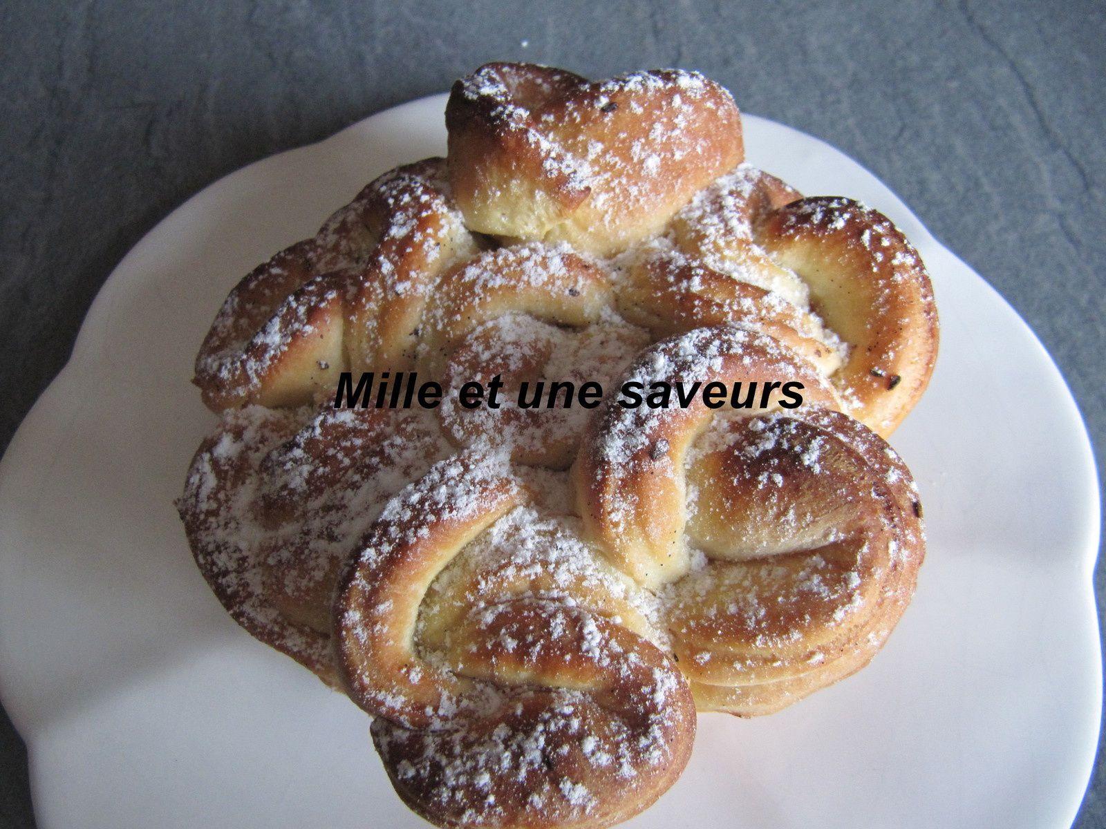 Brioche celte ou brioche bouclette