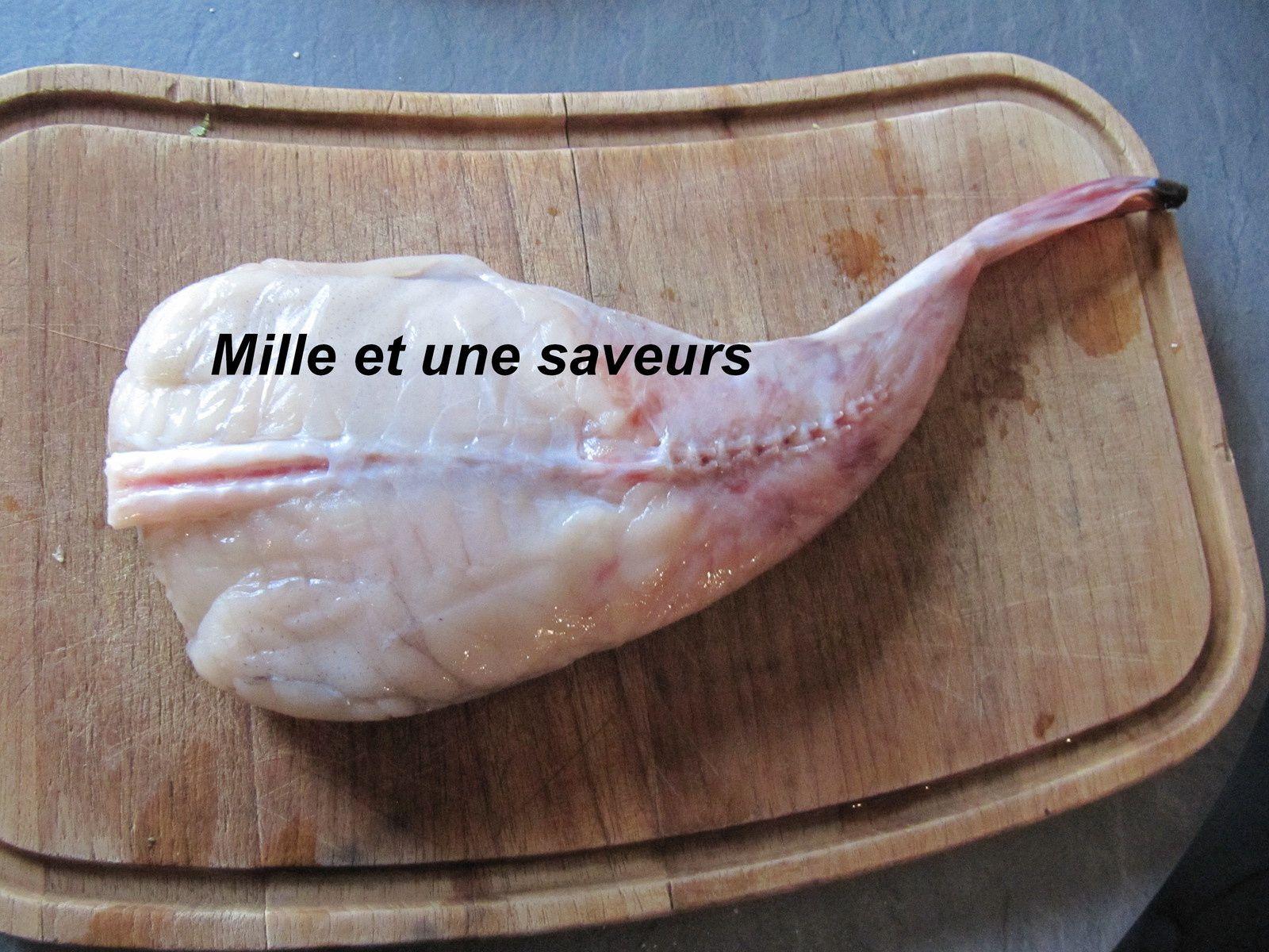 Lotte au saumon fumé, simple et rapide à cuire