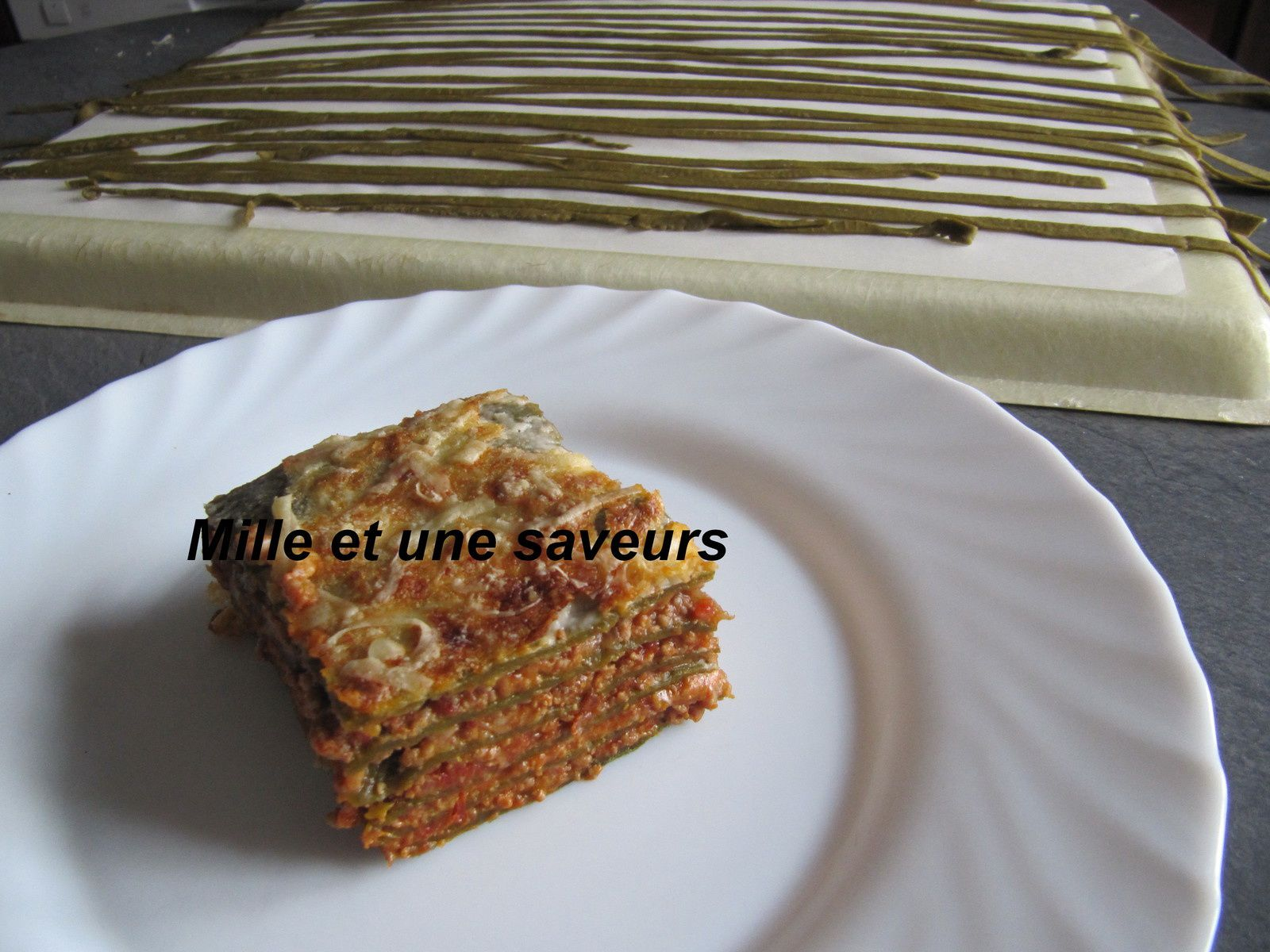 lasagne avec p 226 te aux 233 pinards maison mille et une saveurs dans ma cuisine