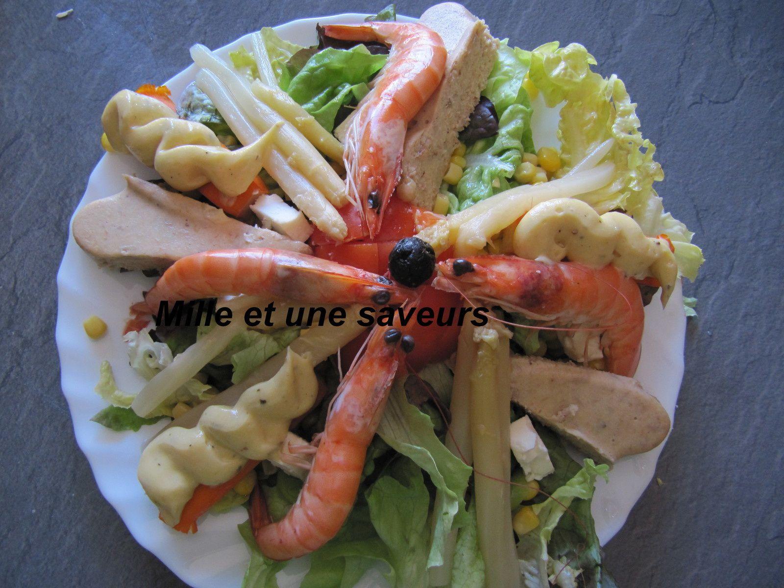 Idées de salades composées