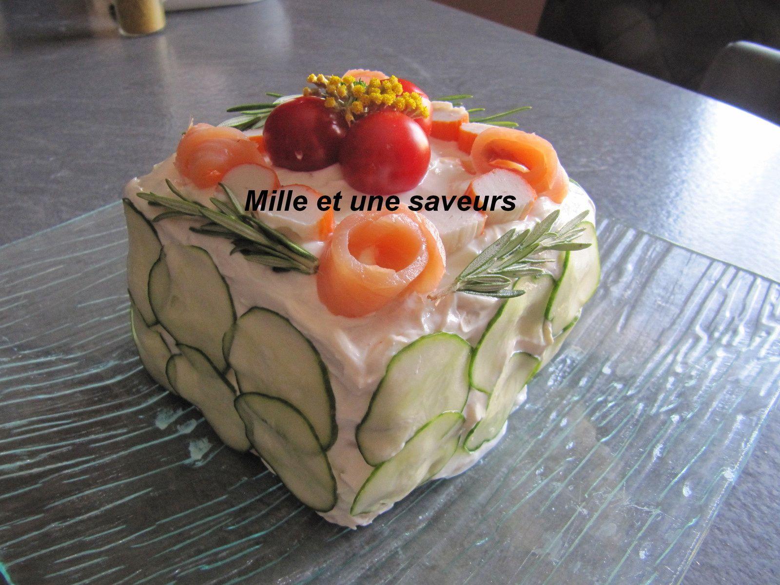 Cake au saumon pas sec