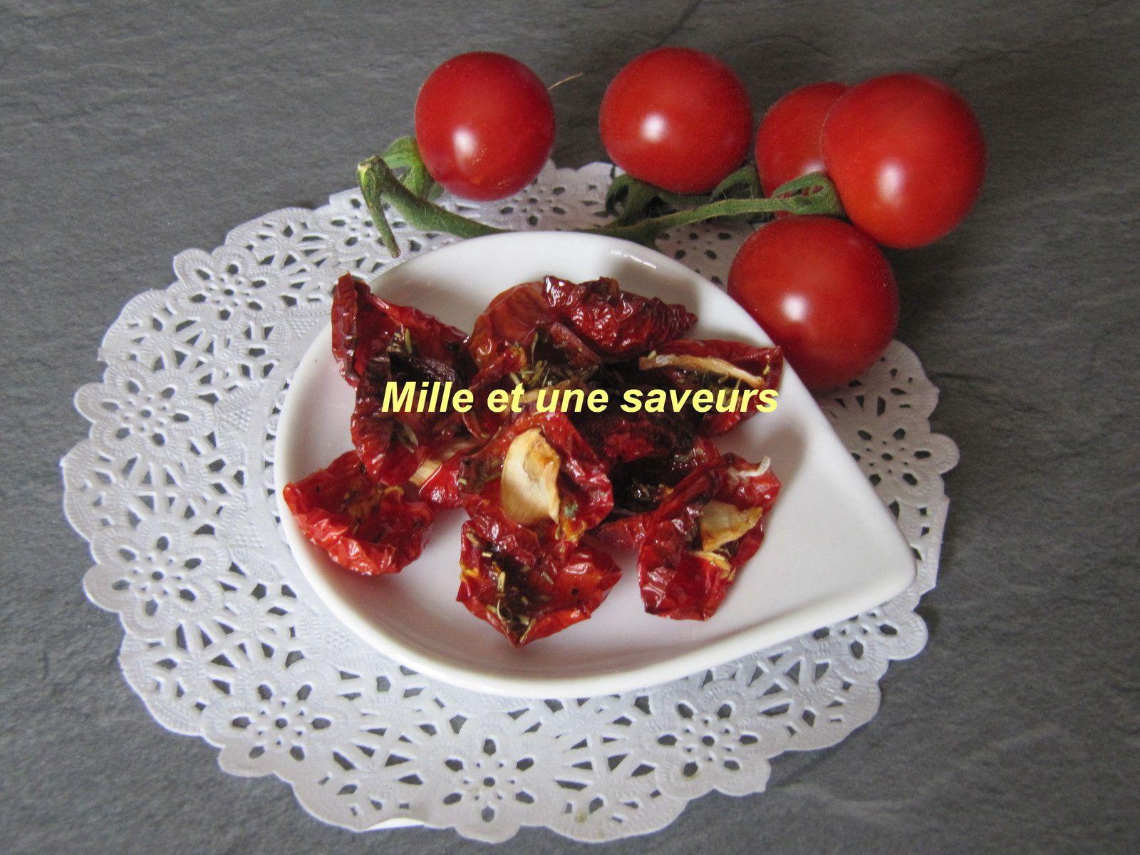 tomates cerises s ch es au four mille et une saveurs dans ma cuisine. Black Bedroom Furniture Sets. Home Design Ideas