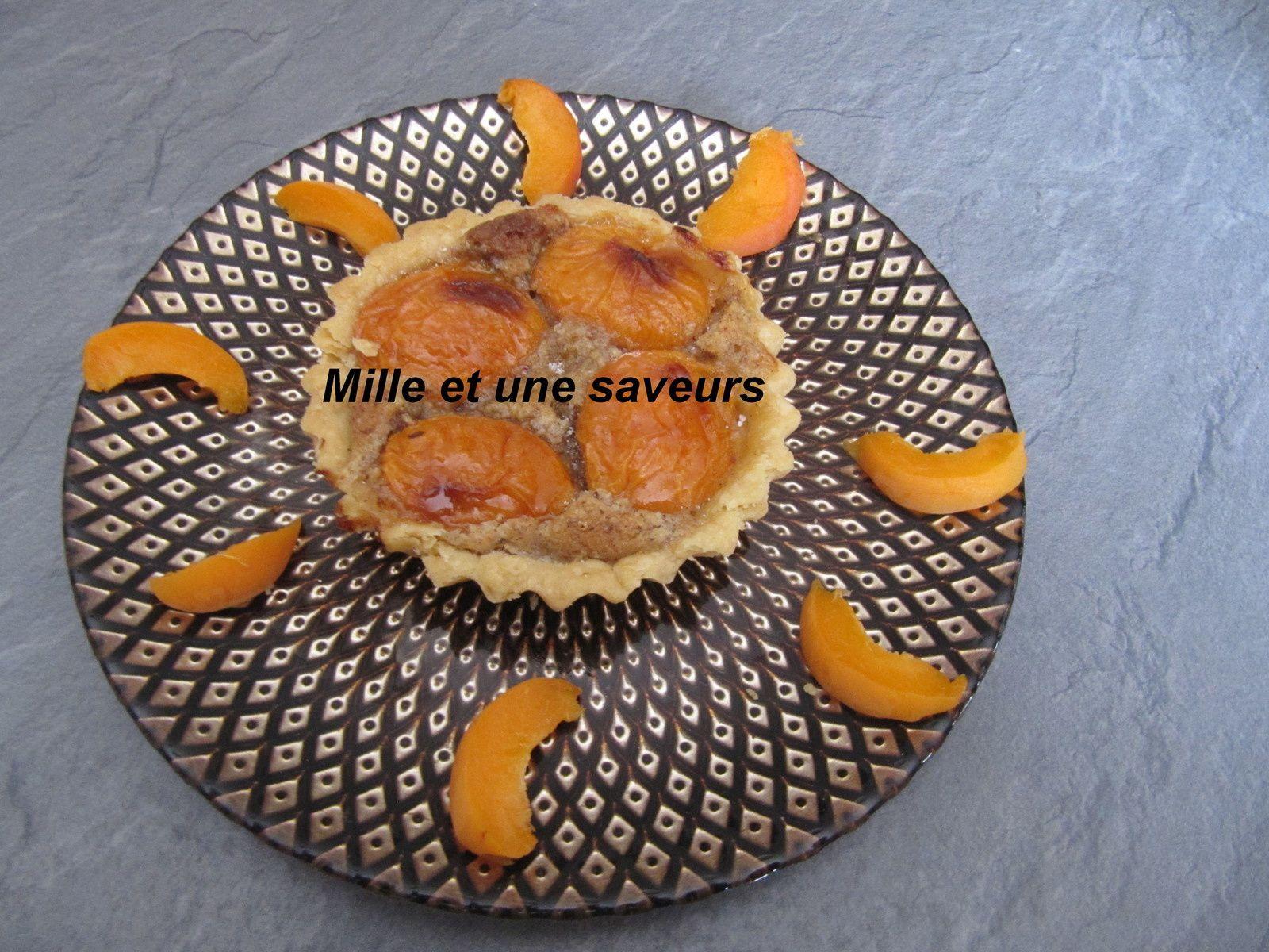 Tartelette abricotine