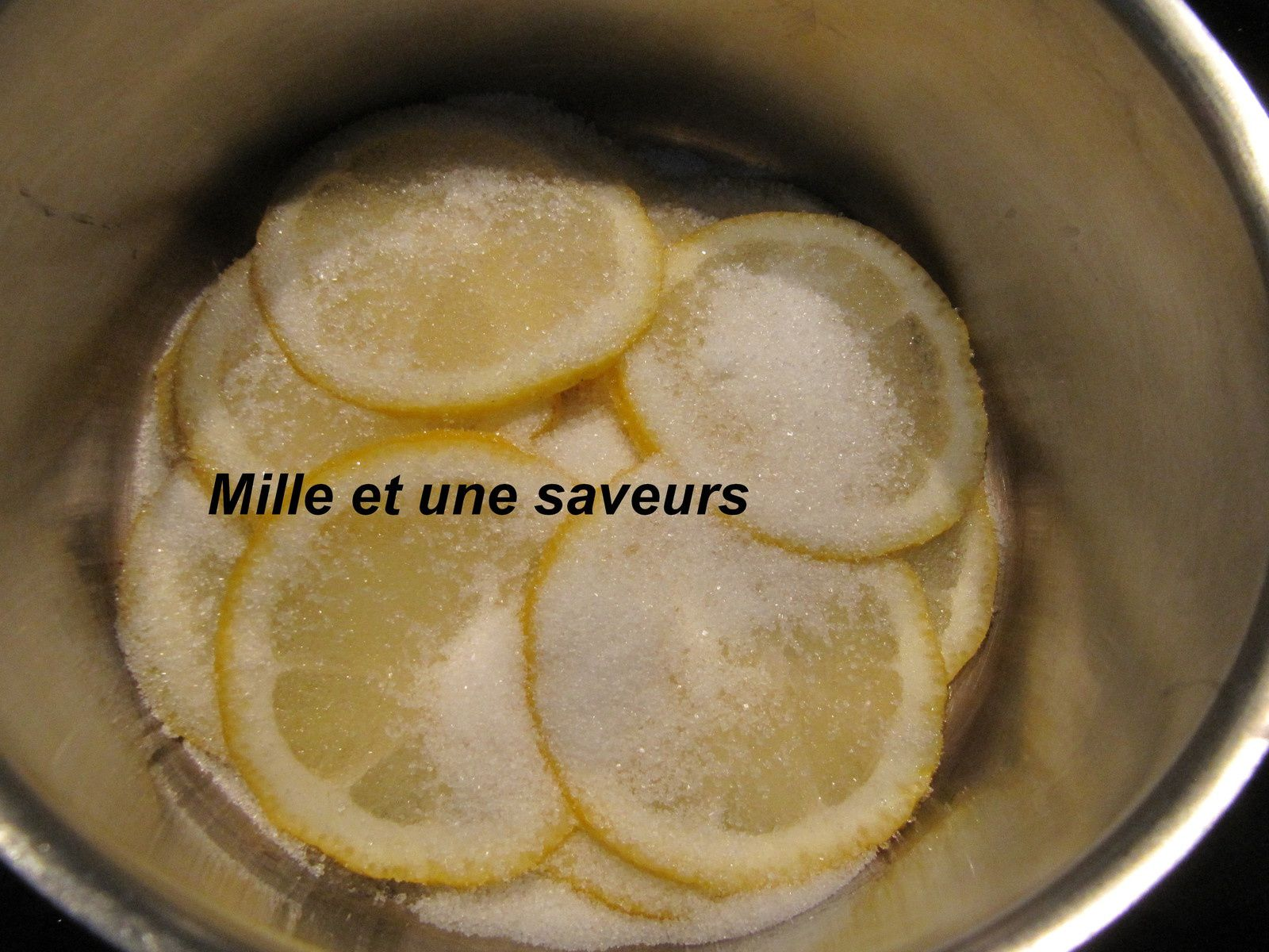 Rondelles de citrons confits