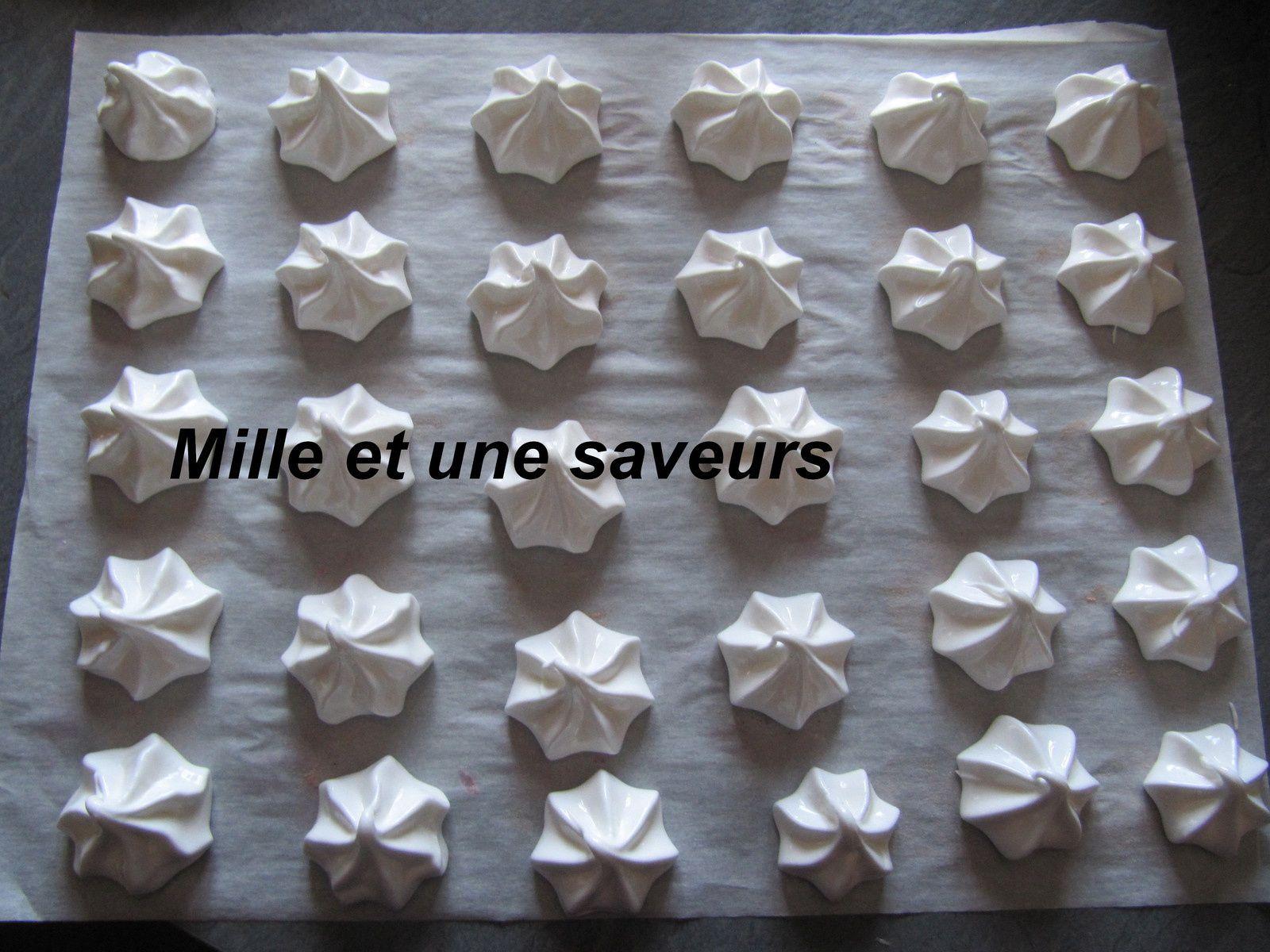 La meringue française