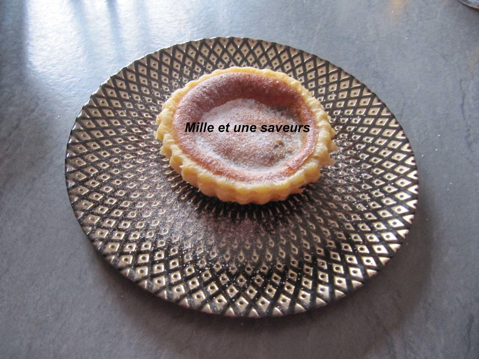 Tartelette mirliton à l'abricot
