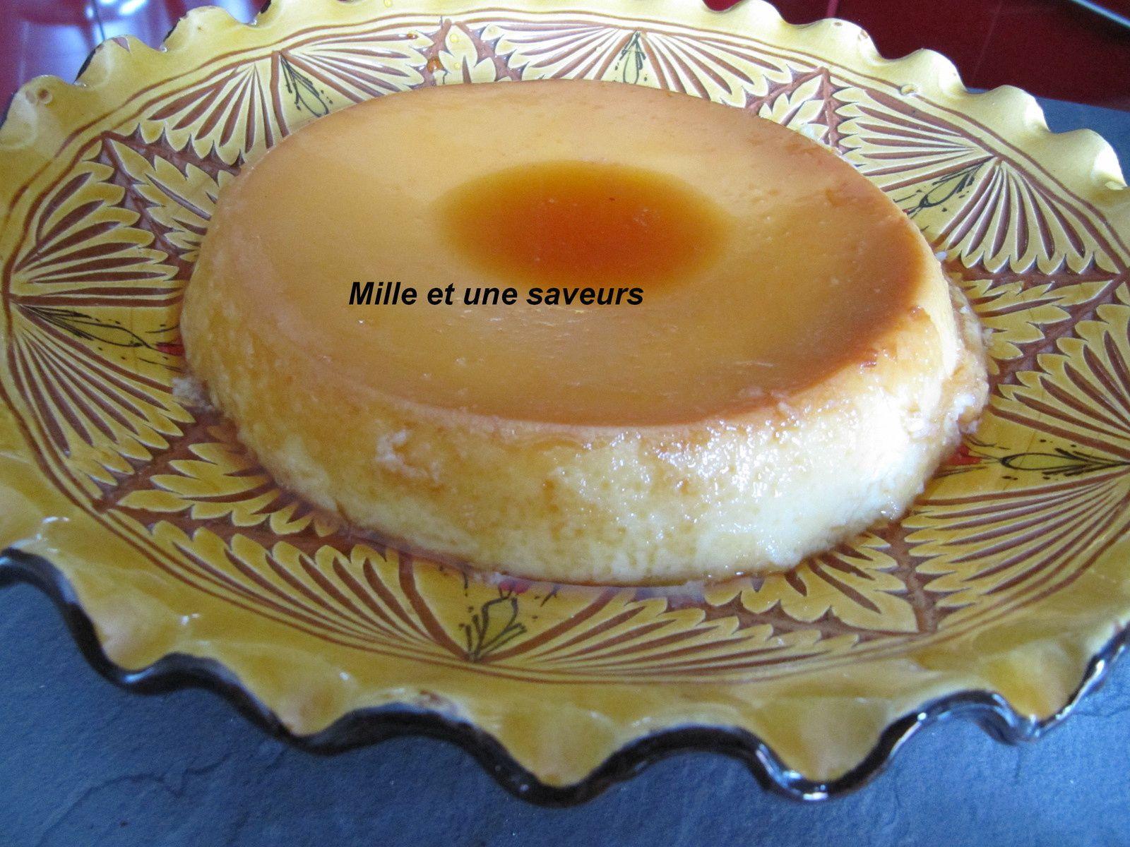 Crème renversée au cookéo