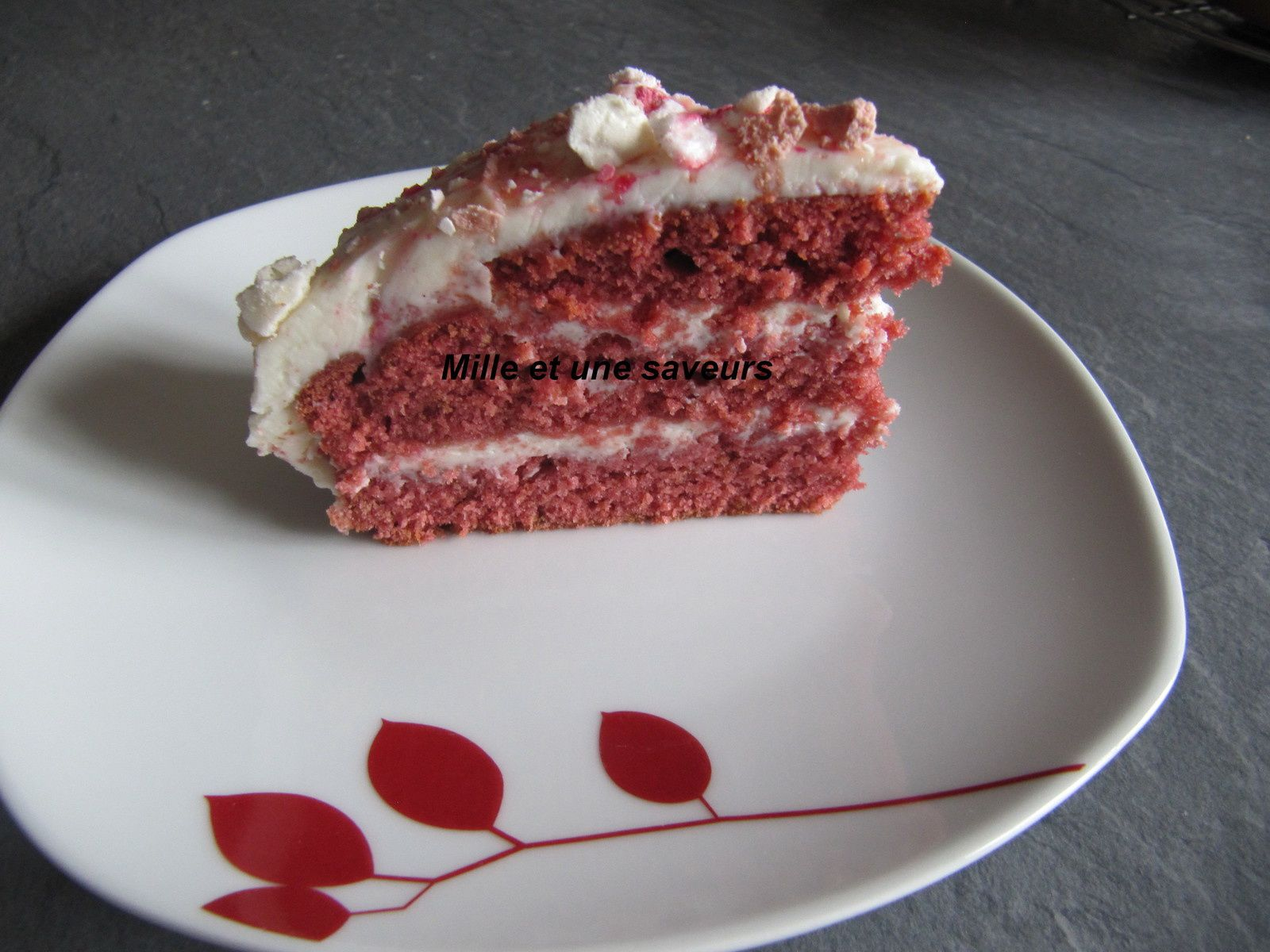 Gâteau  rouge velours ou Red Velvet Cake