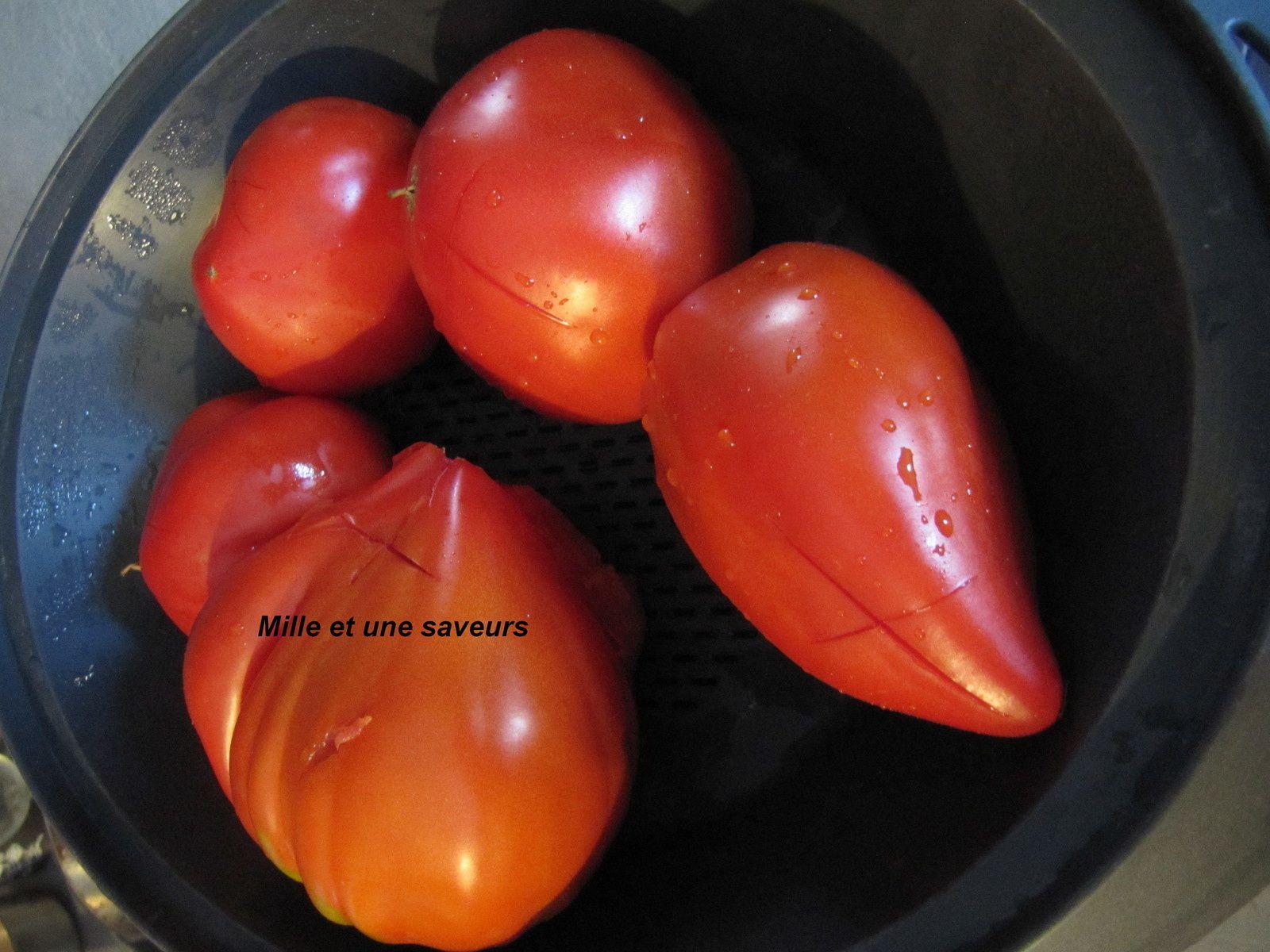 Tomates pelées au thermomix