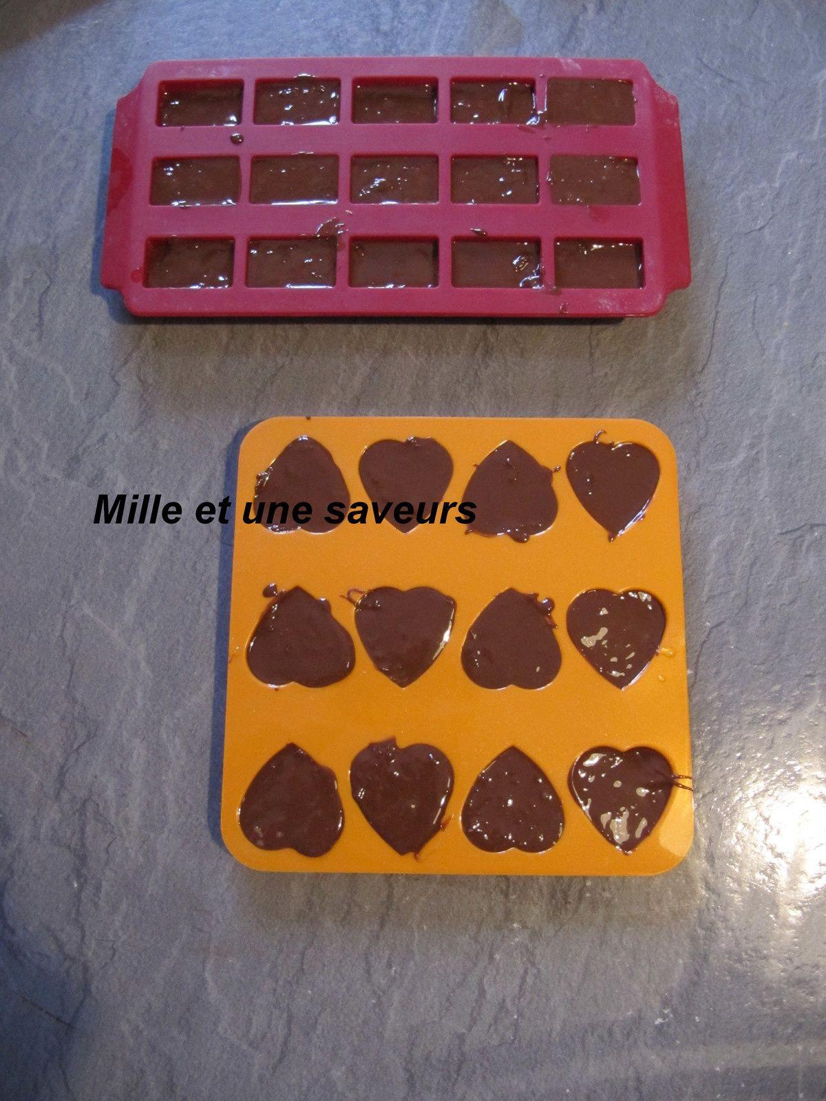 Petites douceurs chocolat, praliné et gavottes