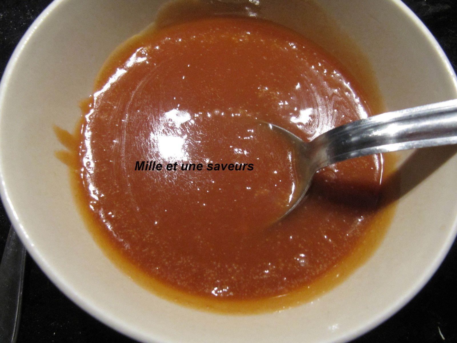 Ganache caramel au beurre salé pour mes macarons