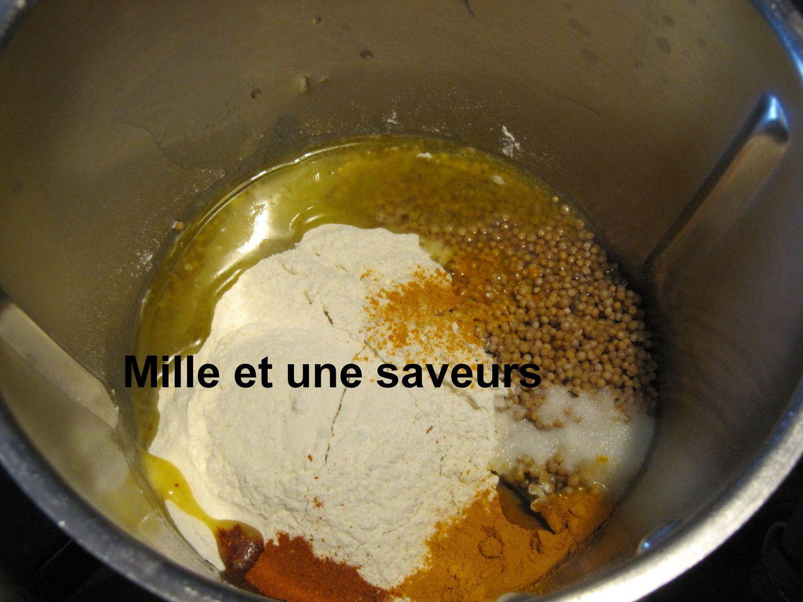 Moutarde maison faite au thermomix