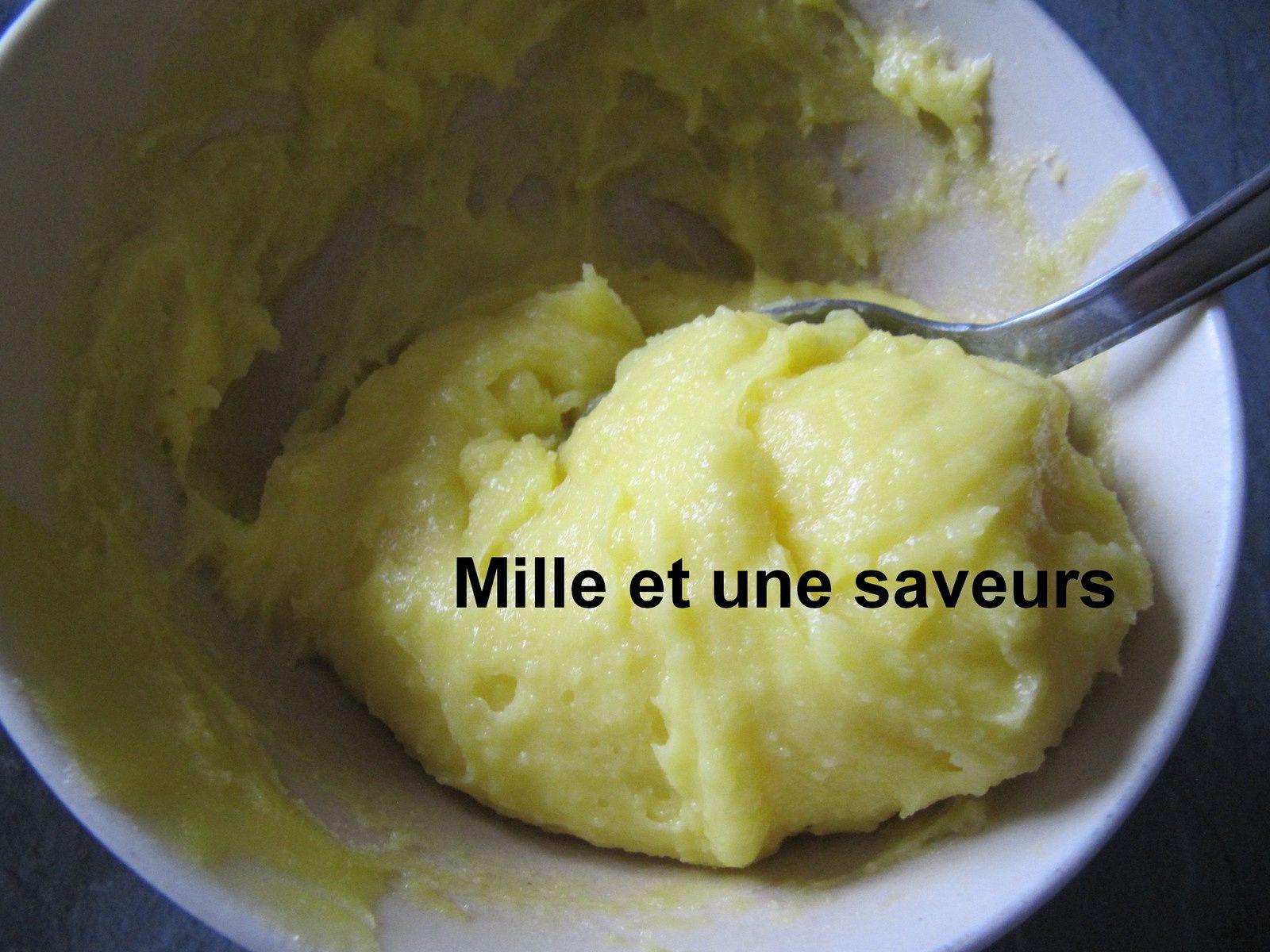 Crème au citron pour macaron