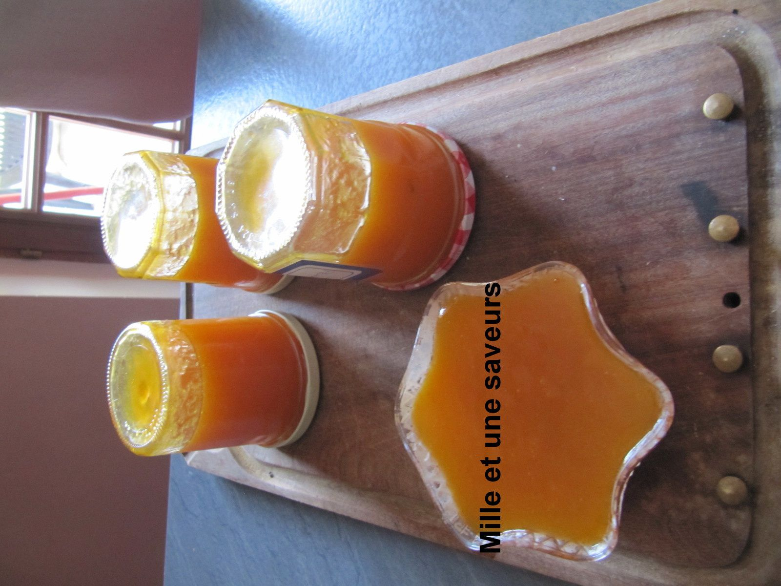 confiture abricot groseille thermomix