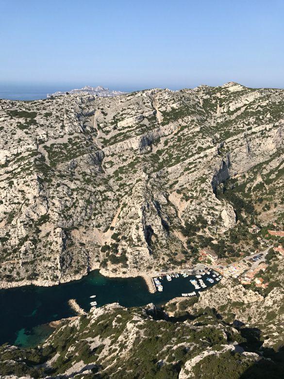 1ère sortie trail dans les calanques de Marseille