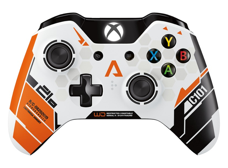 Une manette Xbox One Titanfall