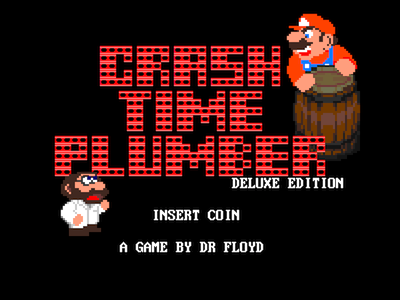 [HOMEBREW] CRASH TIME PLUMBER Deluxe Edition