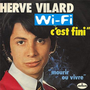 Hervé Vilard annonce la fin du Wi-Fi Connexion