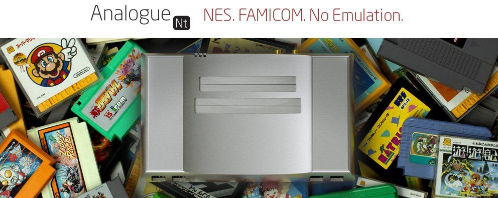 L'Analogue NT, une NES en alu !