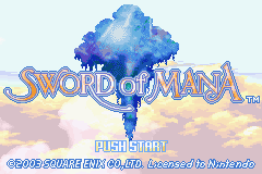 [RETROGAMING] Sword of Mana / GBA