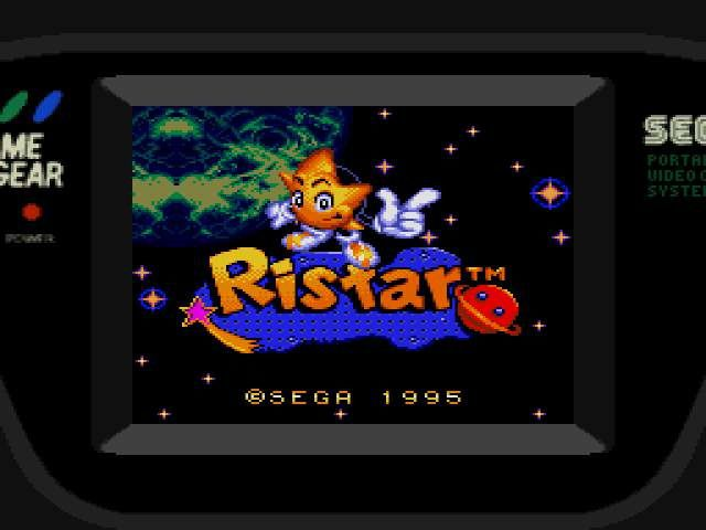 [RETROGAMING] Ristar / Game Gear
