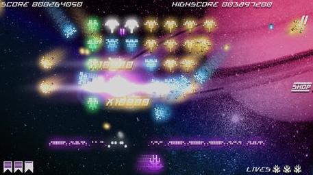 Kosmik Revenge, un shoot rétro arcade génial sur tablette !