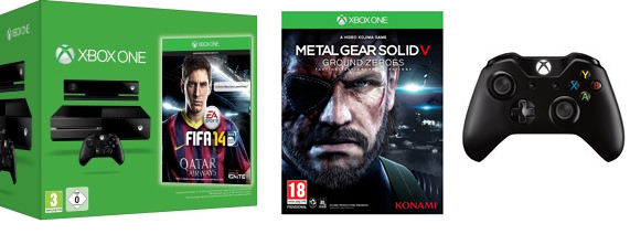 Xbox One : Metal Gear gratos + 1 manette gratos