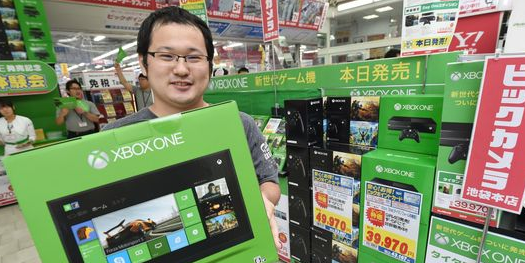 La Xbox One cartonne au Japon !