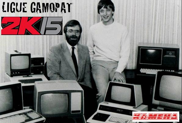 Top départ pour la Ligue Gamopat 2K15 !