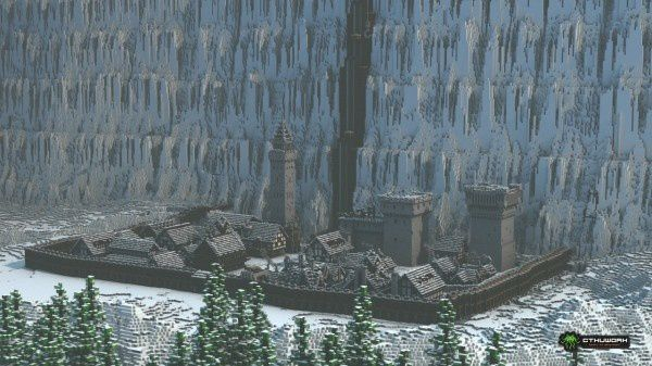 Game of Thrones dans Minecraft