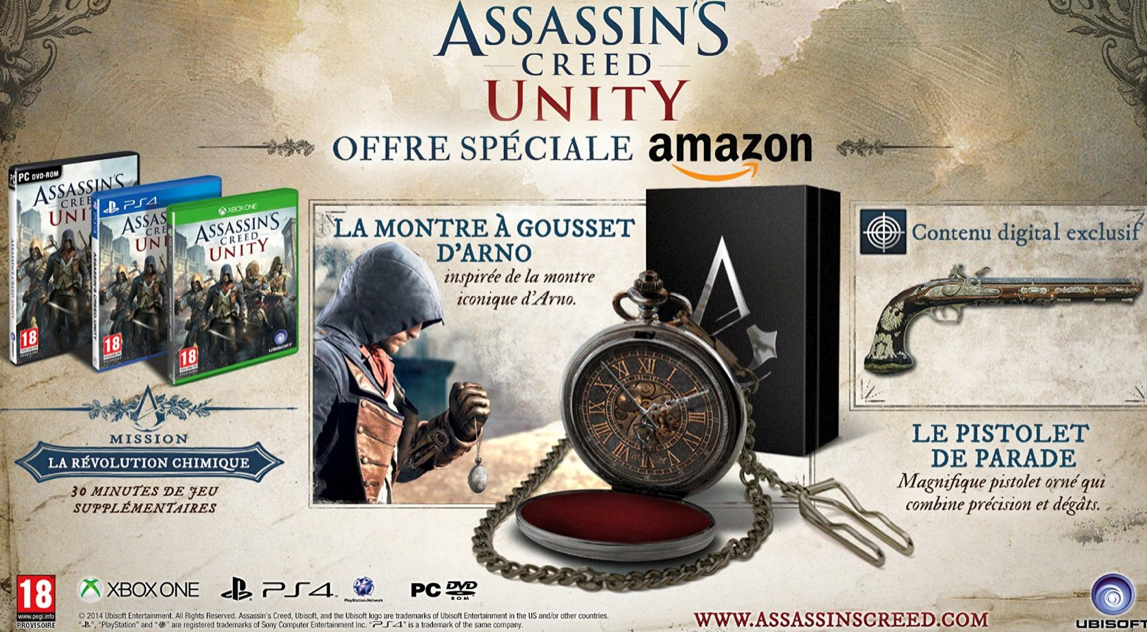 Les packs Bonux Assassin's Creed Unity &amp&#x3B; The Witcher 3 !