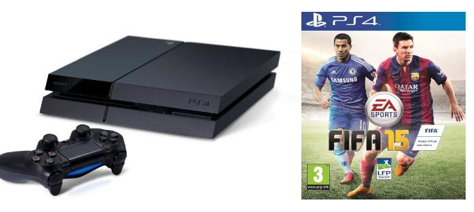 [BONNE AFFAIRES] La PS4 + FIFA 15 en boite pour 399€