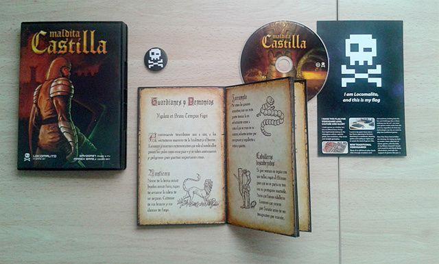 Les jeux de Locomalito en version physique !