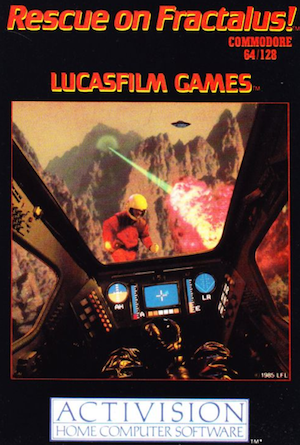 [RETROGAMING] Rescue on Fractalus! / Commodore 64