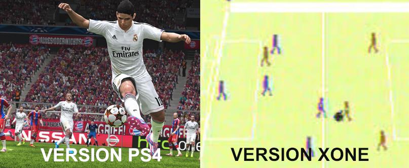 Bon, certes on remarque quelques légères différences visuelles, mais le gameplay devrait cependant être identique.